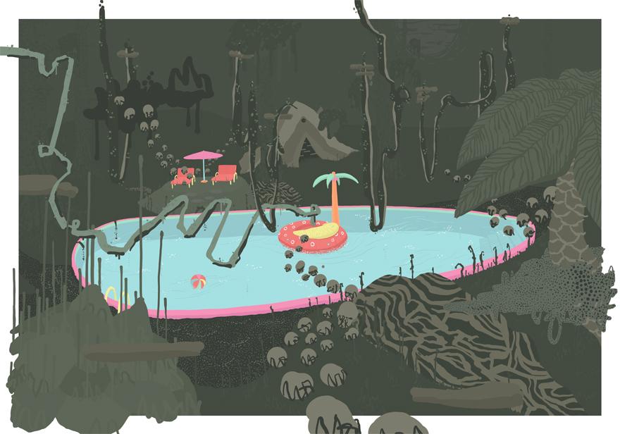 Escapade 1 - Digital Art by BOICUT
