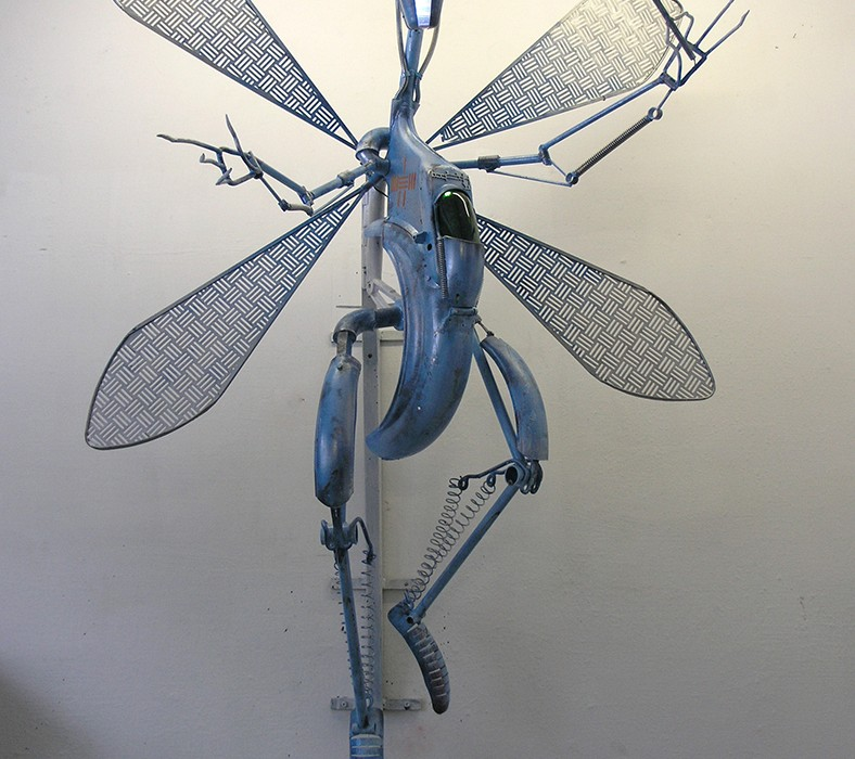 Fairymother - Sculpture by Ottó Robotto Szabó