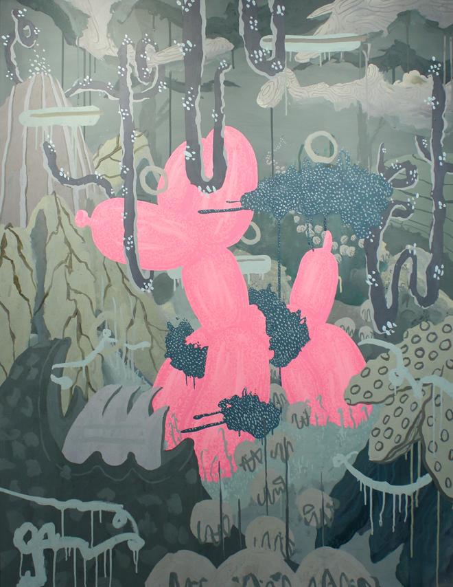 Lost Optimism - Acyrilic Painting by BOICUT