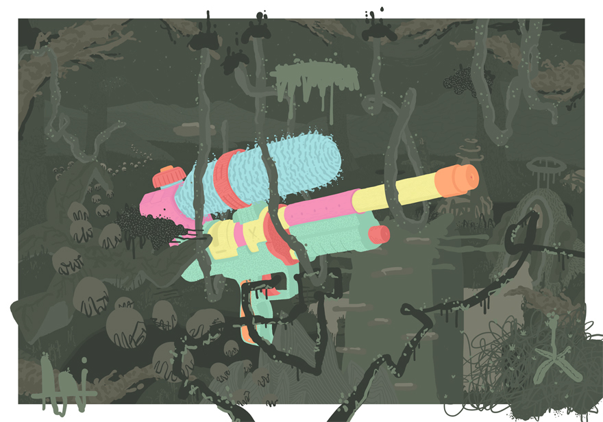 No Kids on the Block 5 - Digital Art by BOICUT