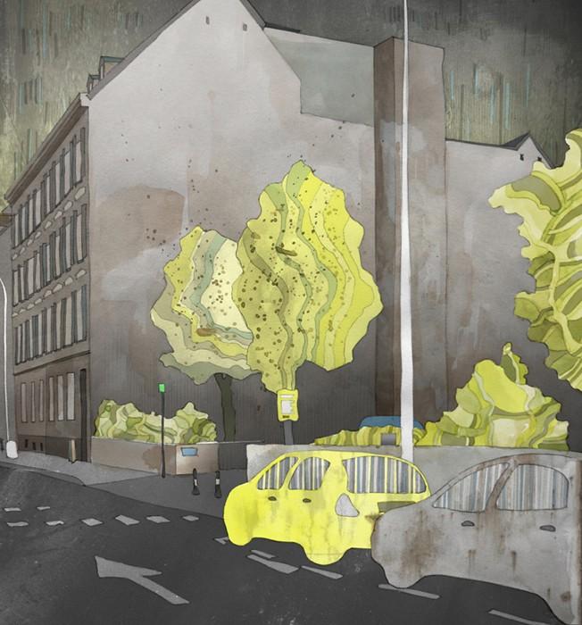 Space in Between II - Art by Michal Pecko
