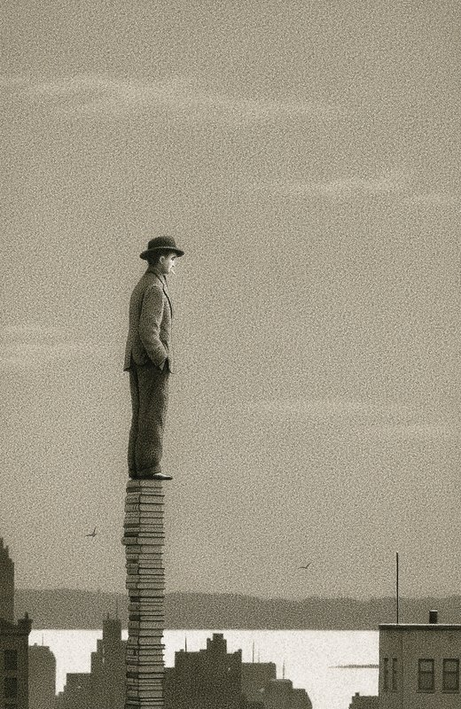 Book Themed Drawings by Quint Buchholz