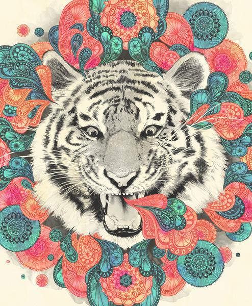 Bengal Mandala - Art Print by Laura Graves