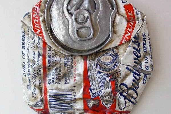 Budweiser - Bud Can - From the Street - Art by Tom Pfannerstill