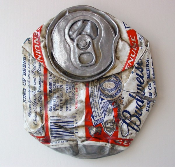 Budweiser - Bud Can - From the Street - Art by Tom Pfannerstill