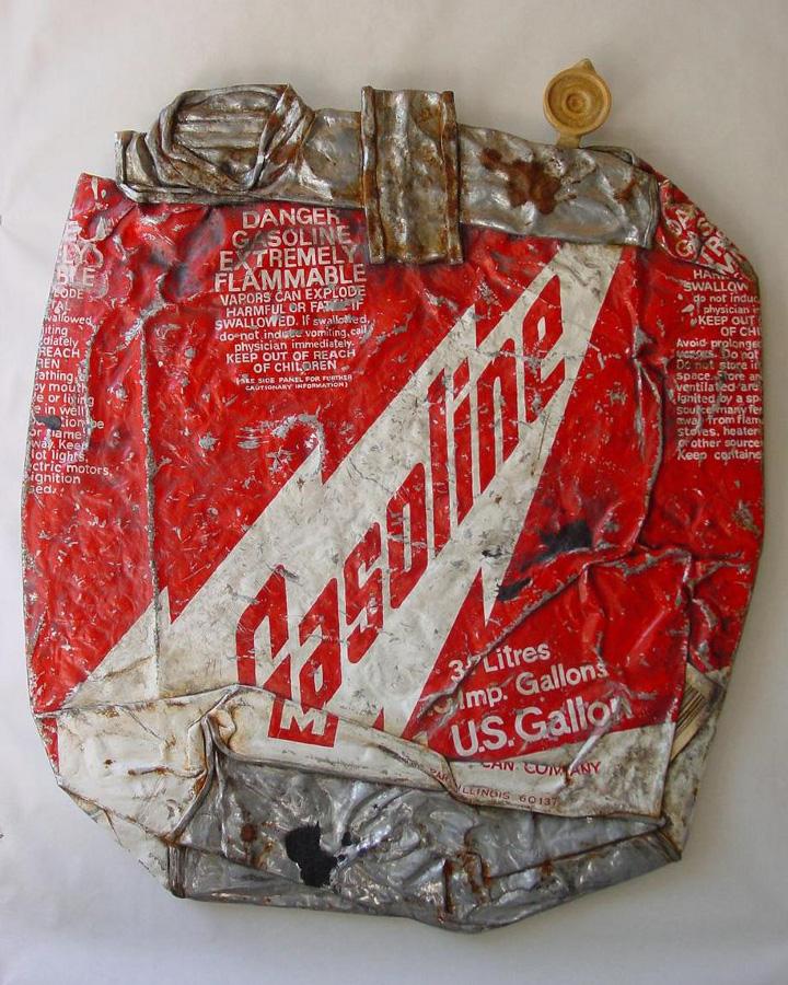 Gasoline - From the Street - Art by Tom Pfannerstill
