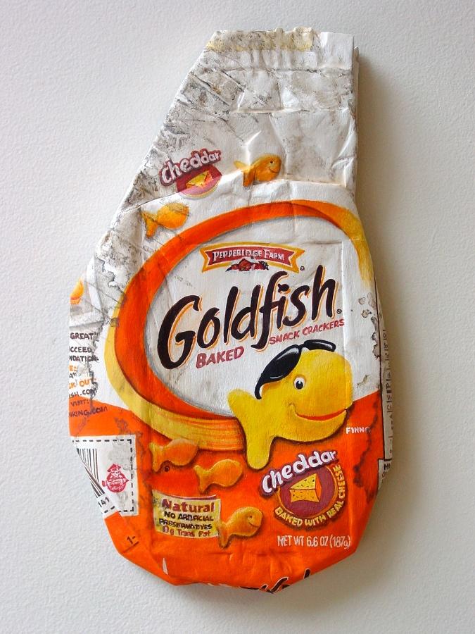 Goldfish - From the Street - Art by Tom Pfannerstill