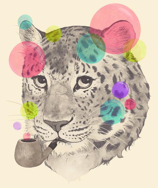 Leopard Changes His Spots - Art Print by Laura Graves