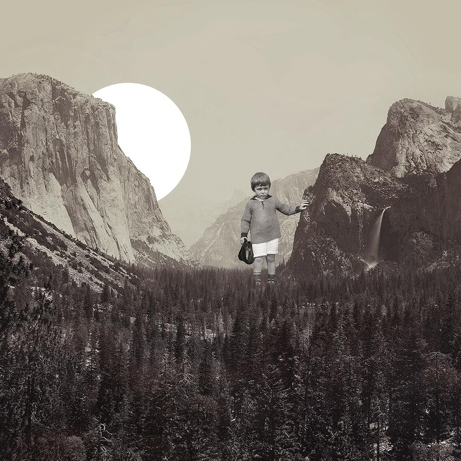 Lost - Collage Art by Joseba Elorza