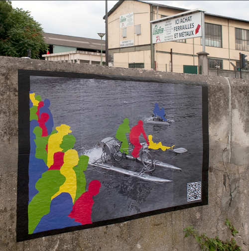 Urban Collage - Street Art by Olivier Perrot