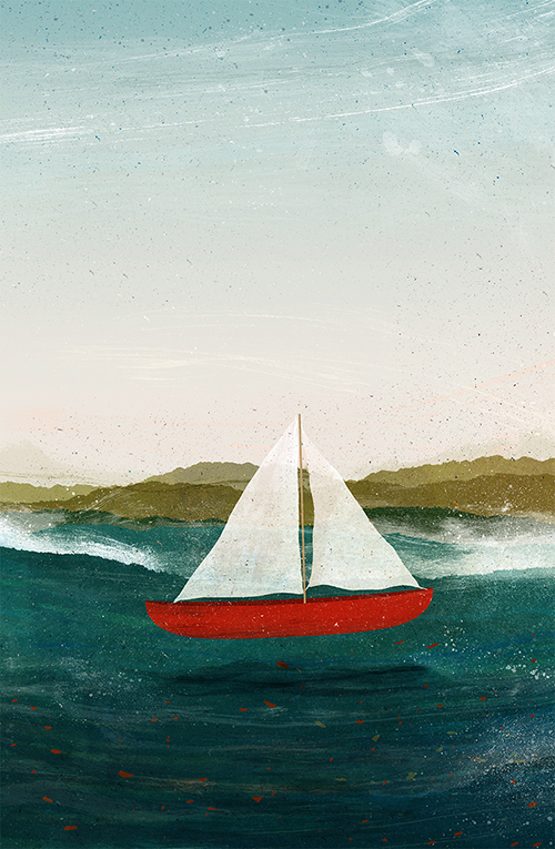 The Boat that Wants to Float - Illustration by Gelrev Ongbico