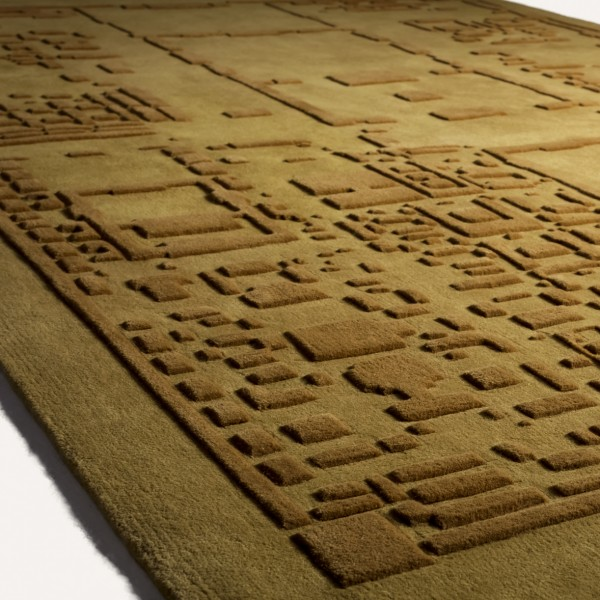 Forbidden City, Beijng - Urban Fabric Wool Rug by Four O Nine
