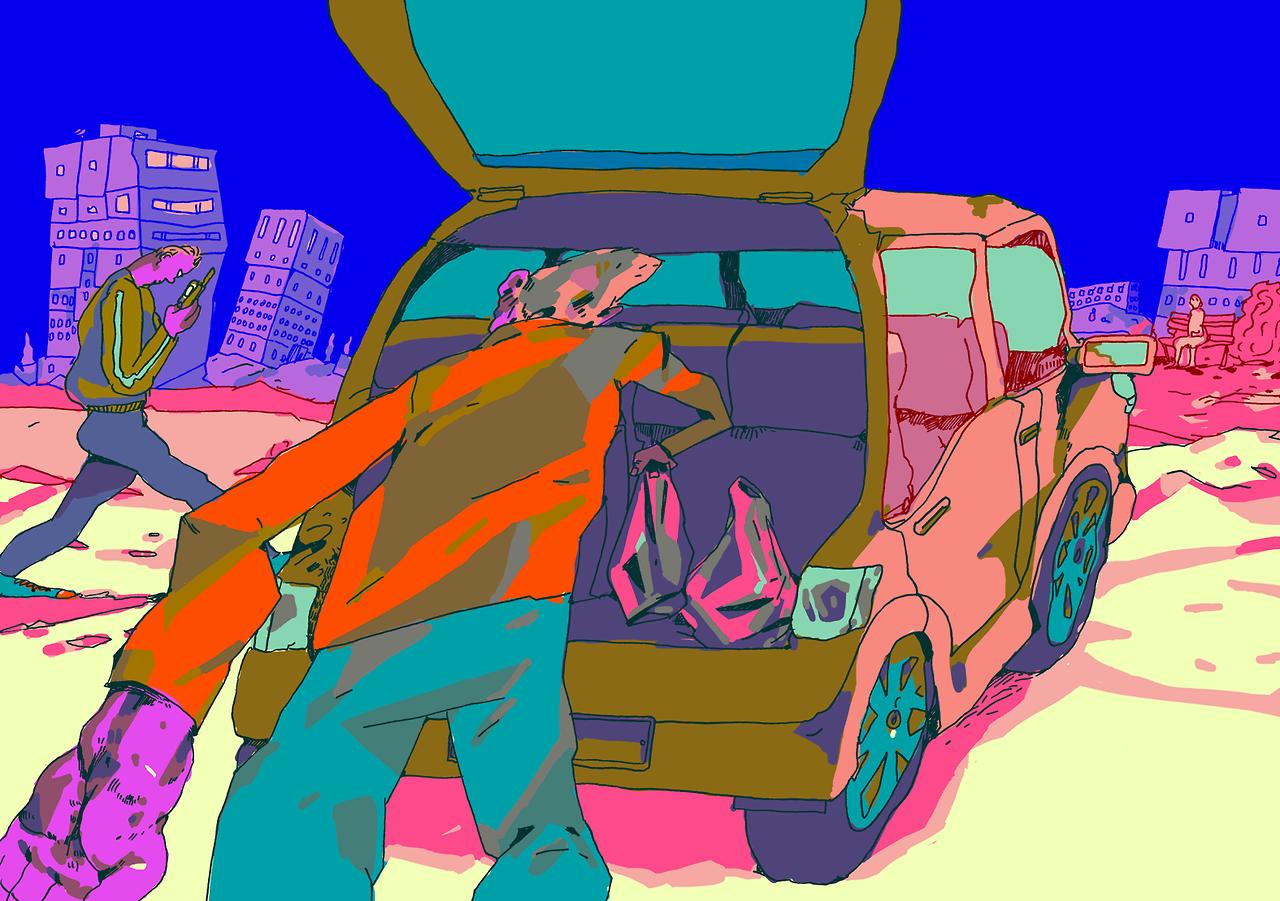 Drawing by Ville Kallio