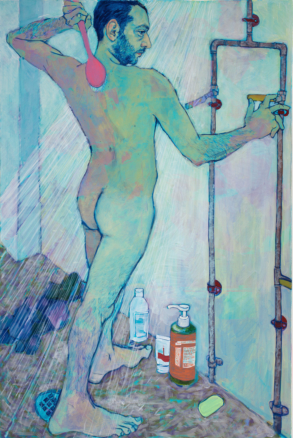 Afternoon Shower - Painting by Hope Gangloff