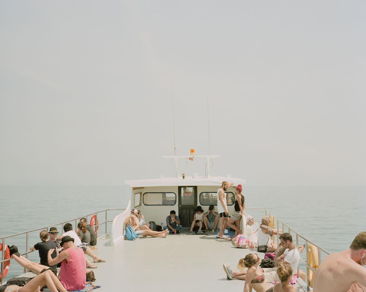 Deck, Andaman Sea, Thailand - Photo by Ákos Major