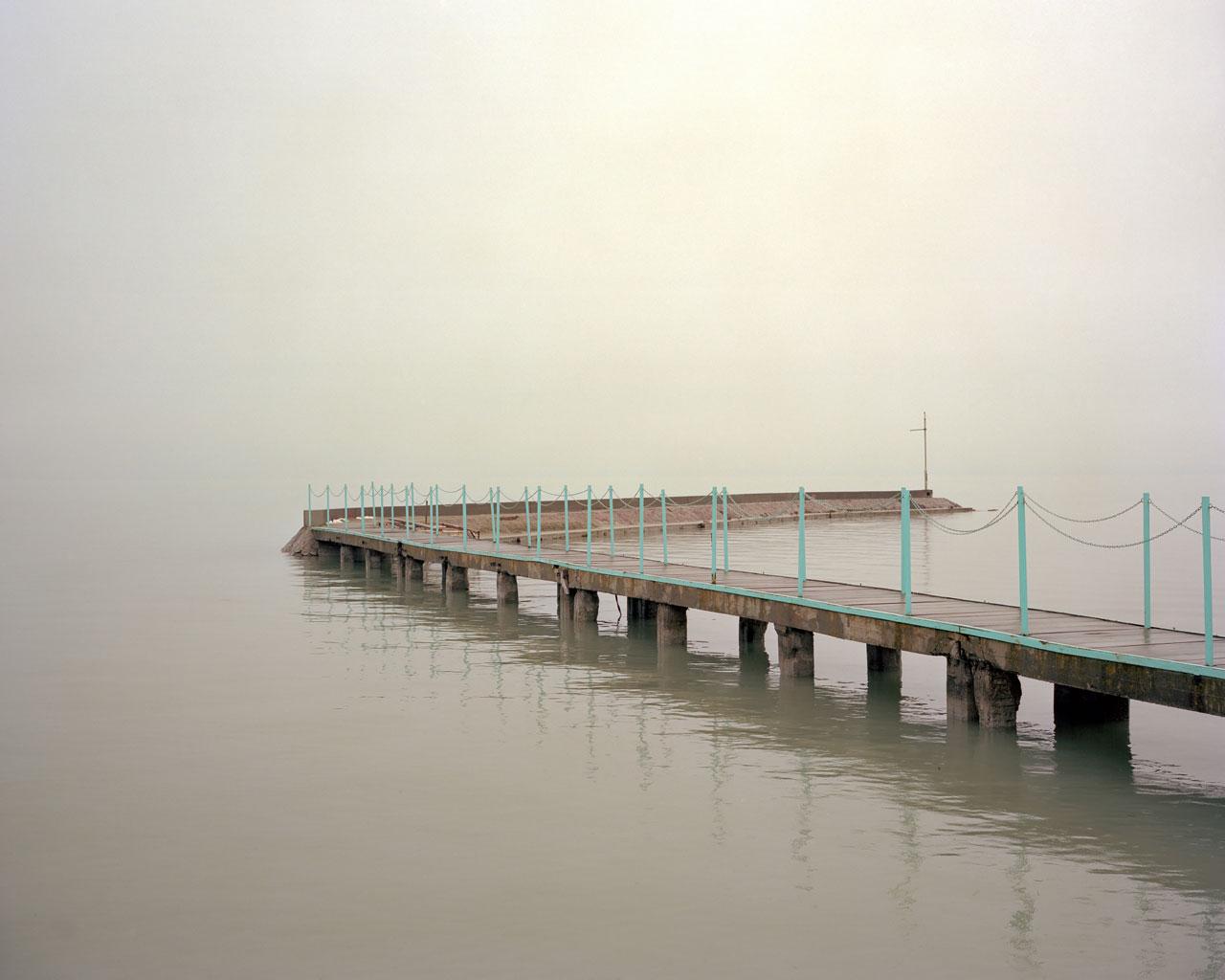 Jetty (November), Lake Balaton, Hungary - Photo by Ákos Major