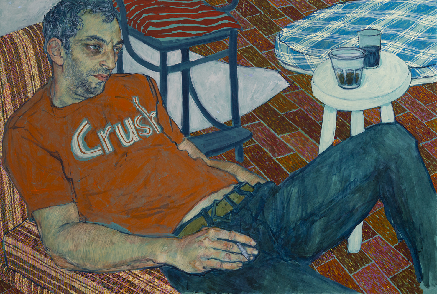 Andrei - Painting by Hope Gangloff