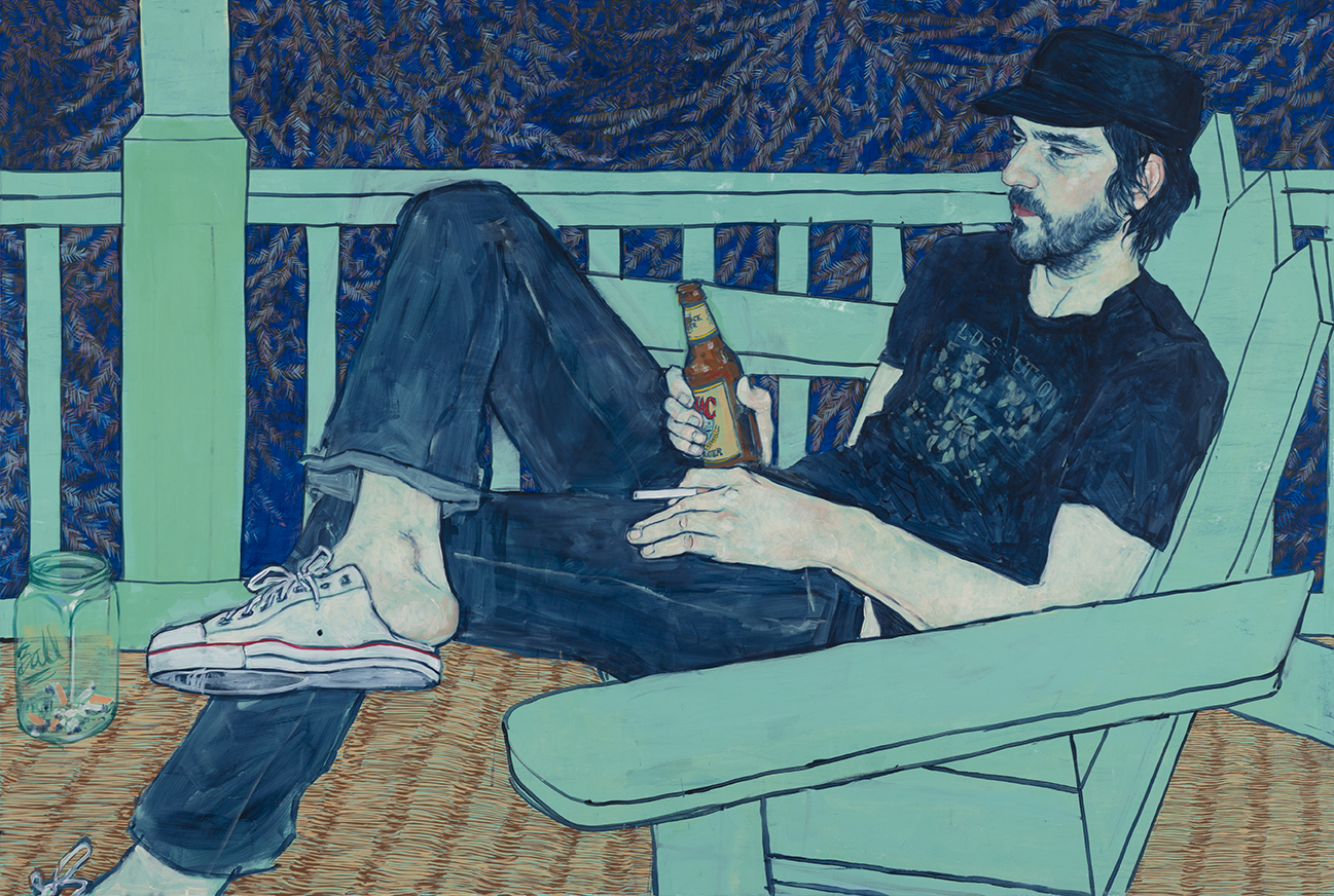 Land's End (Vic Masny) - Painting by Hope Gangloff