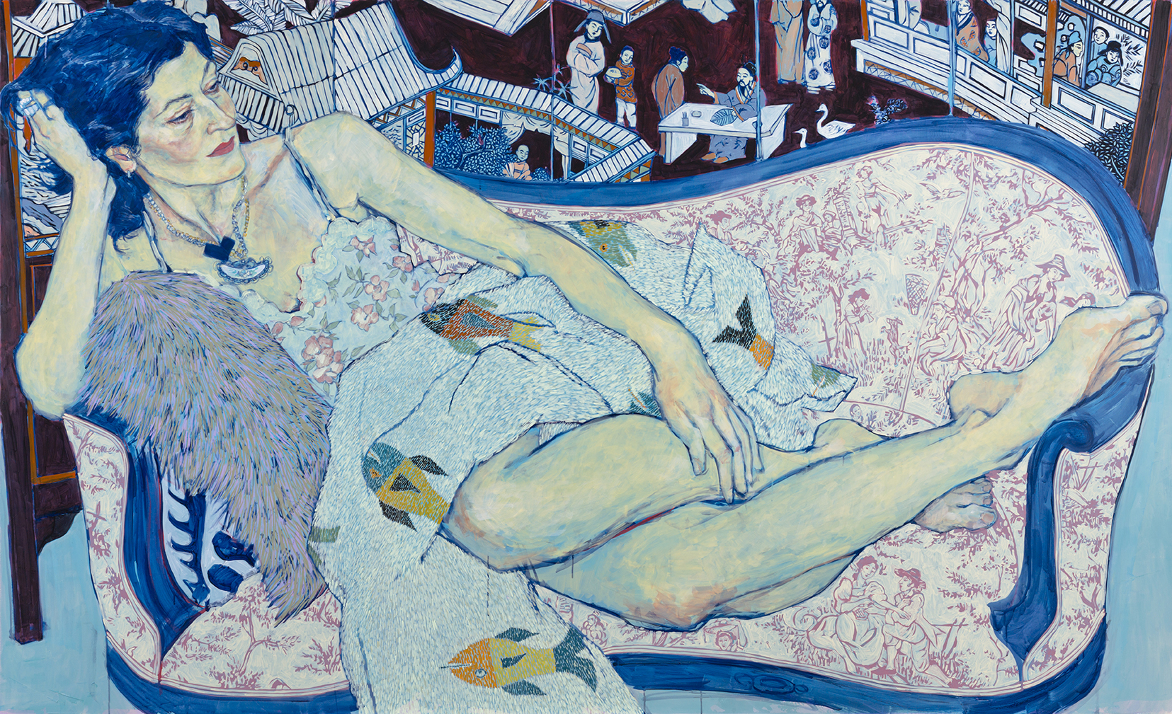 Queen Jane Approximately - Painting by Hope Gangloff