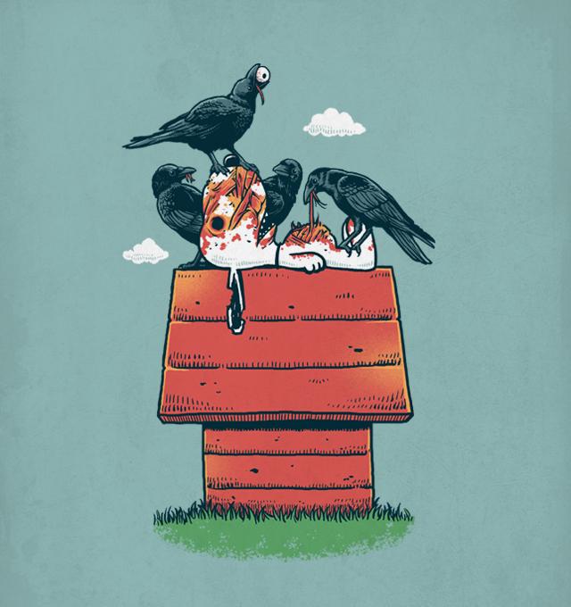 Terror Ravens - Illustration by Ben Chen