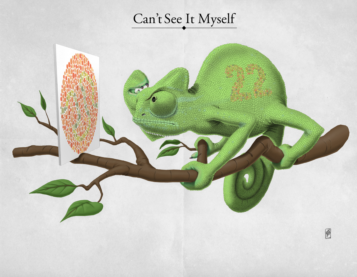 Can't See It Myself - Art Print by Rob Snow