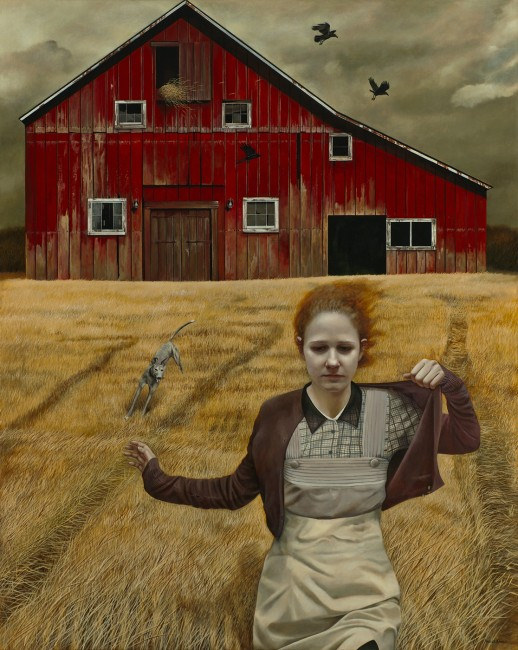 Dream Chaser - Painting by Andrea Kowch