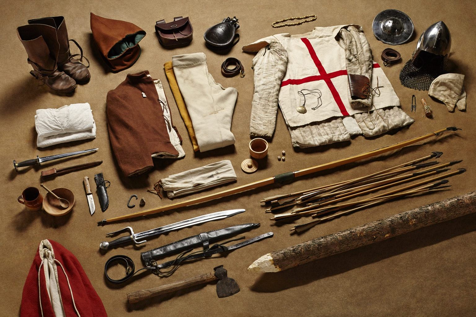 Fighting Archer, Battle of Agincourt, 1415 - Soldiers' Inventories - Photo by Thom Atkinson