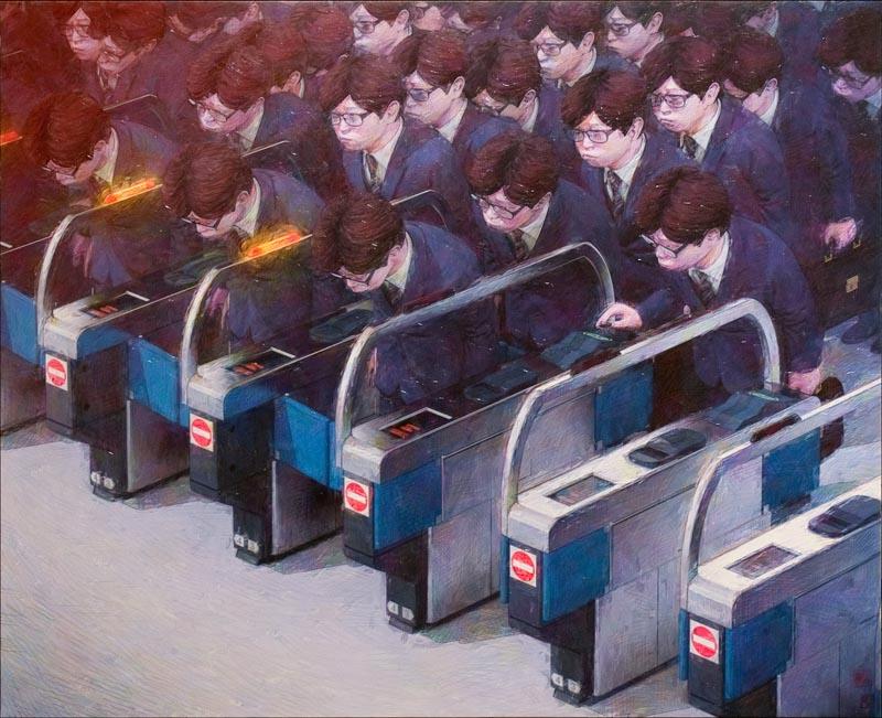 Forward - Art by Satoru Imatake