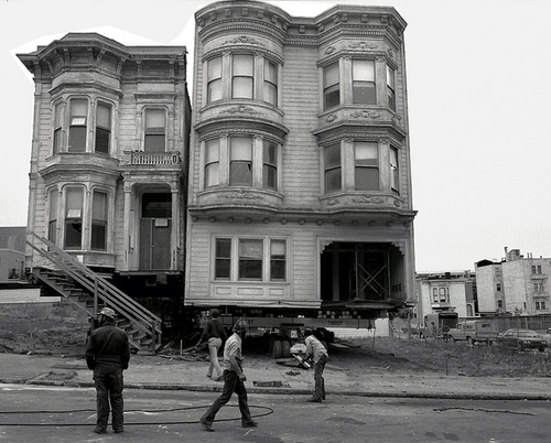 House Movers San Francisco - Photo by Dave Glass