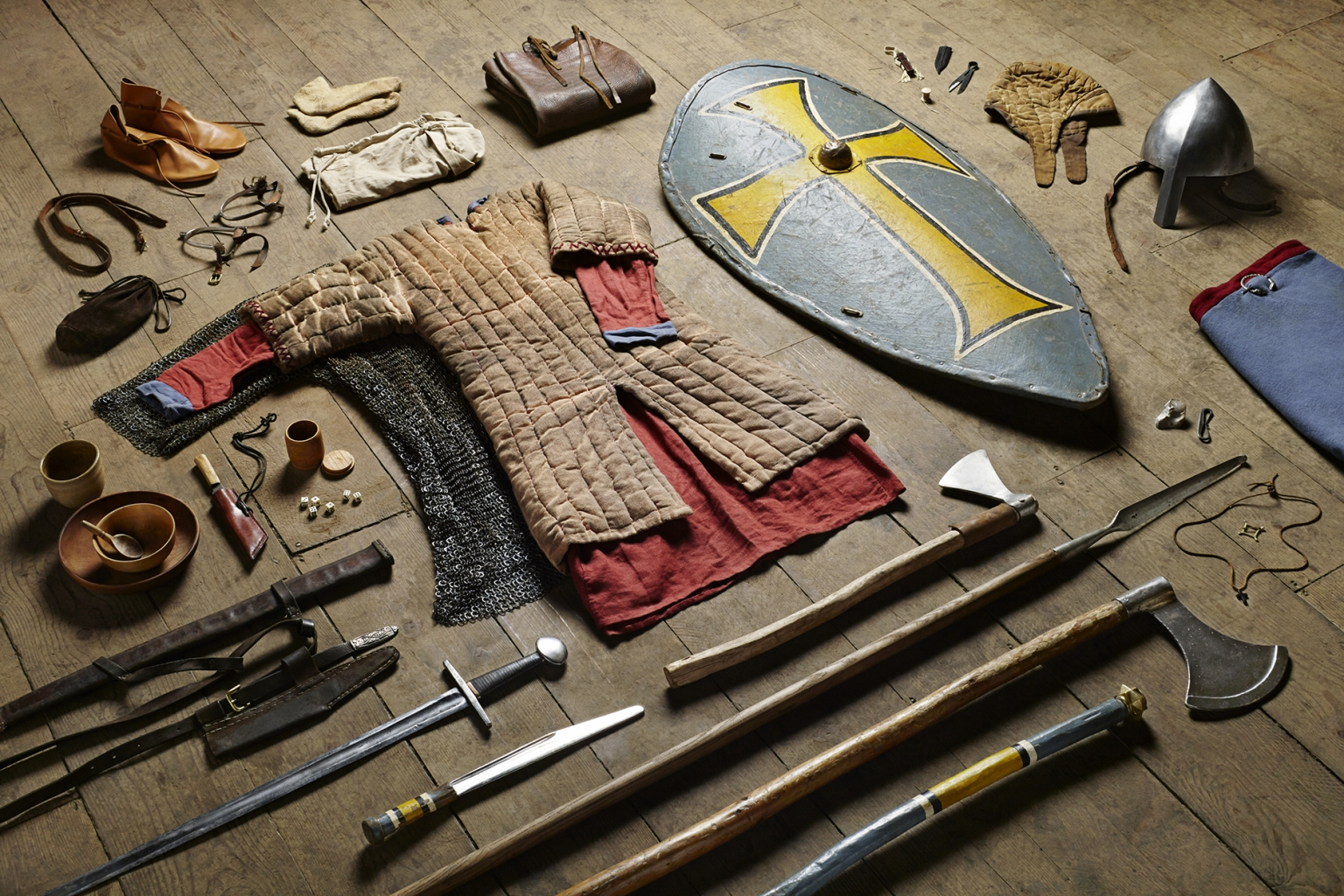 Huscarl, Battle of Hastings, 1066 - Soldiers' Inventories - Photo by Thom Atkinson
