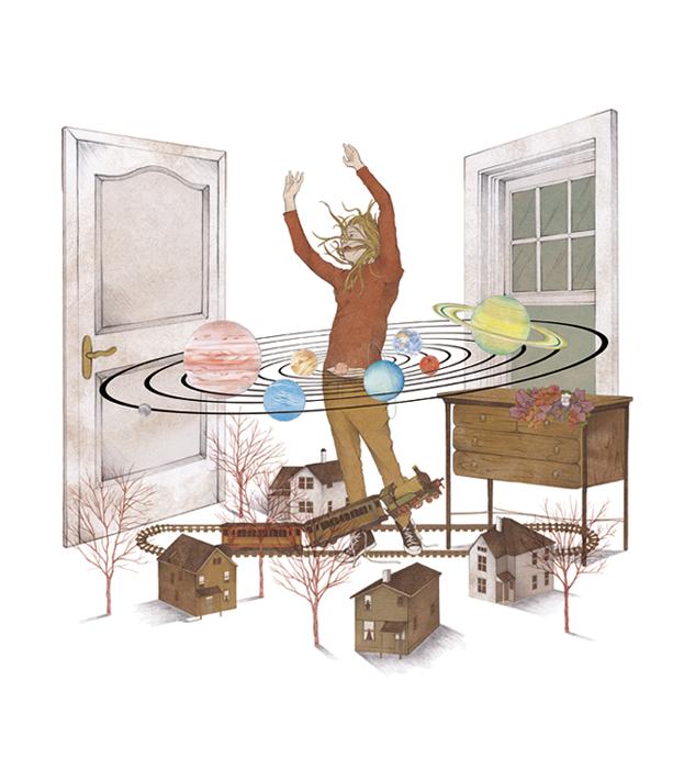 For Espacio de las Artes - Illustration by Nader Sharaf - Illustration by Nader Sharaf