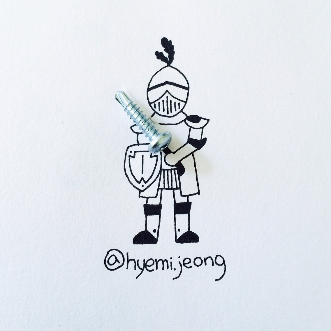 Knight - Art by Hyemi Jeong