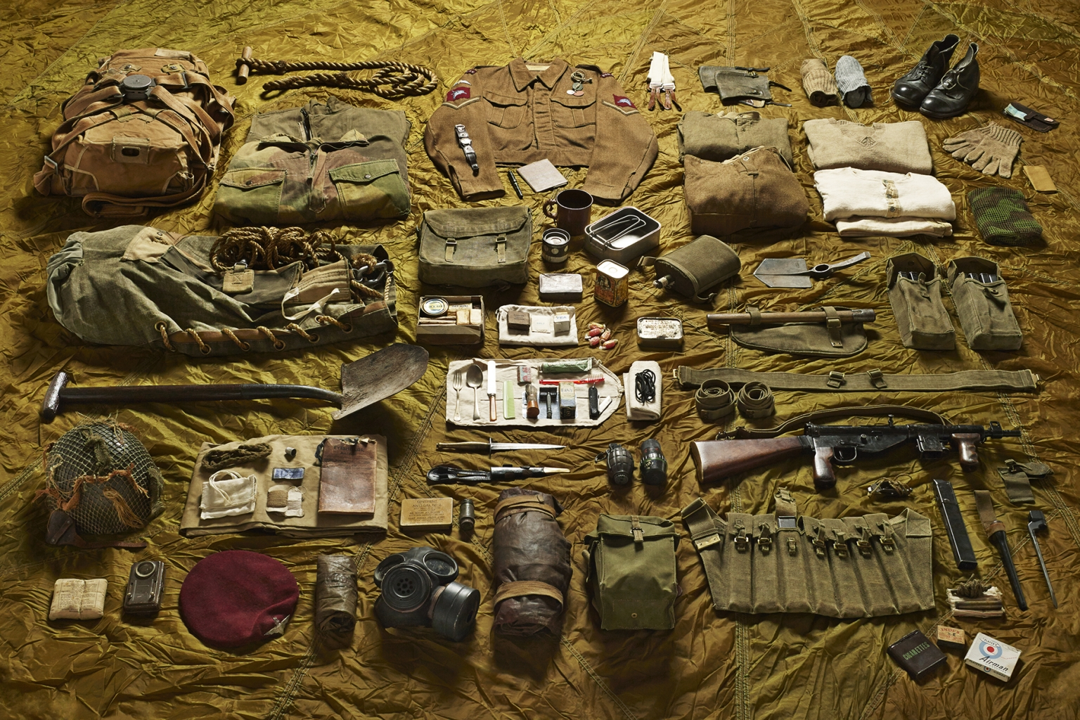 Lance Corporal, Parachute Brigade, Battle of Arnhem, 1944 - Soldiers' Inventories - Photo by Thom Atkinson