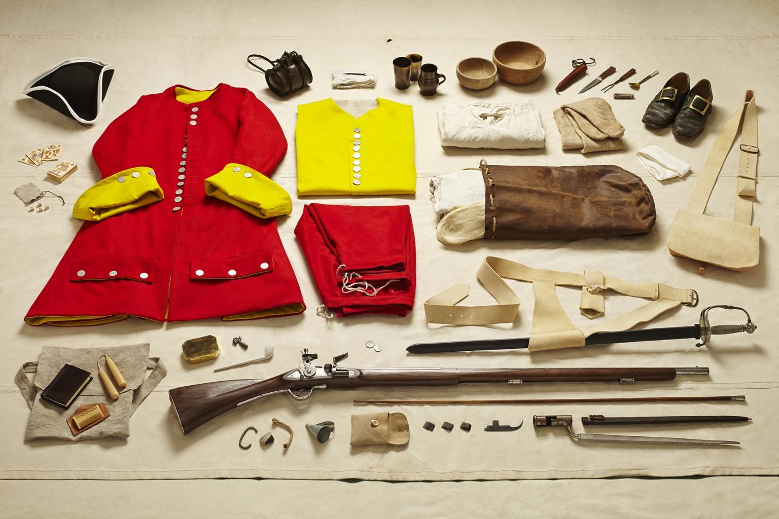 Private Sentinel, Battle of Malplaquet, 1709 - Soldiers' Inventories - Photo by Thom Atkinson