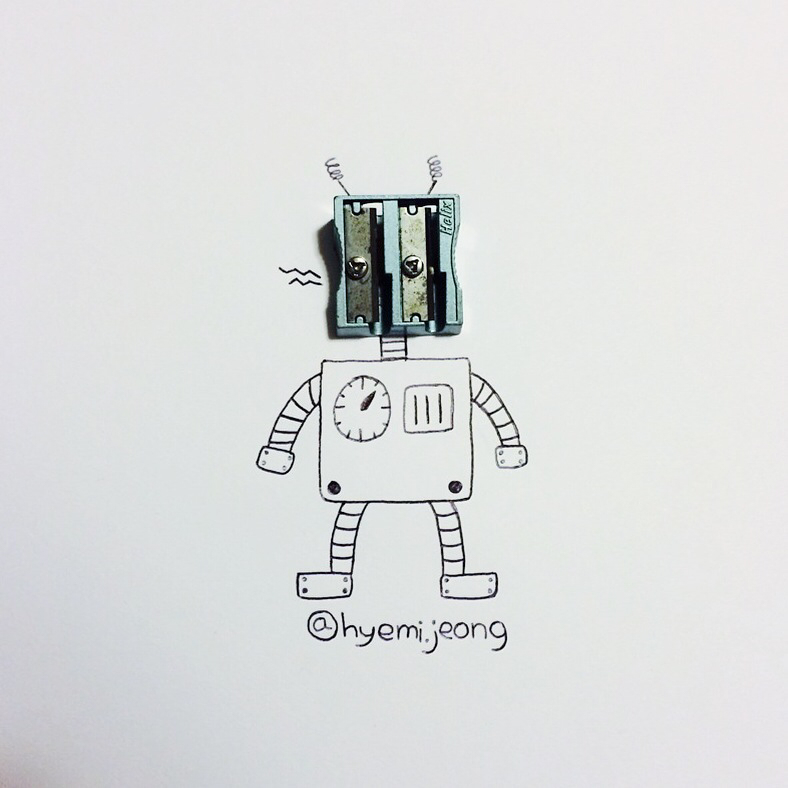 Robot - Art by Hyemi Jeong