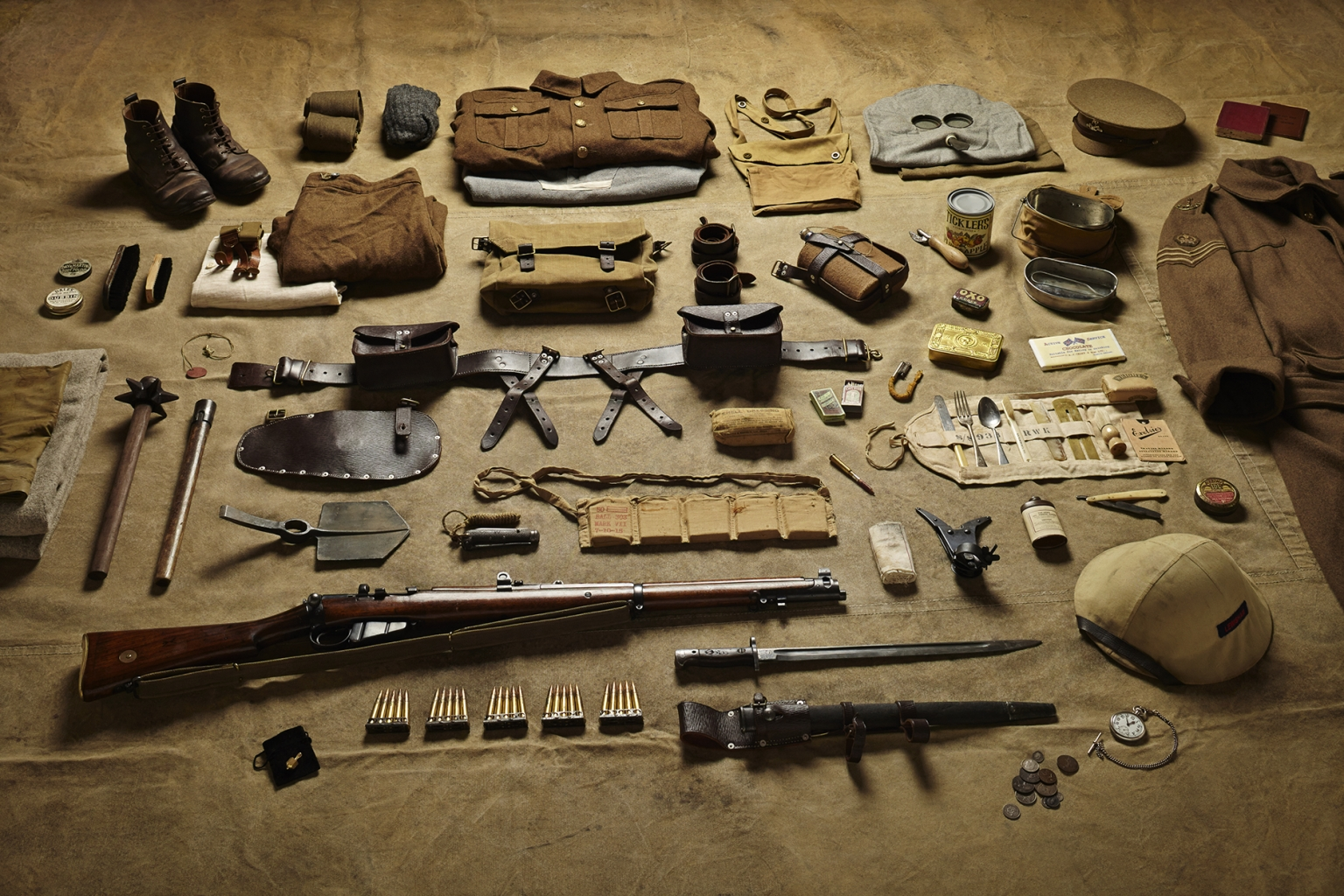 Sergeant, Battle of the Somme, 1916 - Soldiers' Inventories - Photo by Thom Atkinson