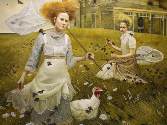 Sojourn - Painting by Andrea Kowch