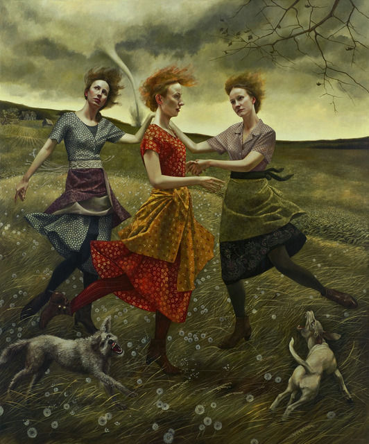 Whirlwind - Painting by Andrea Kowch