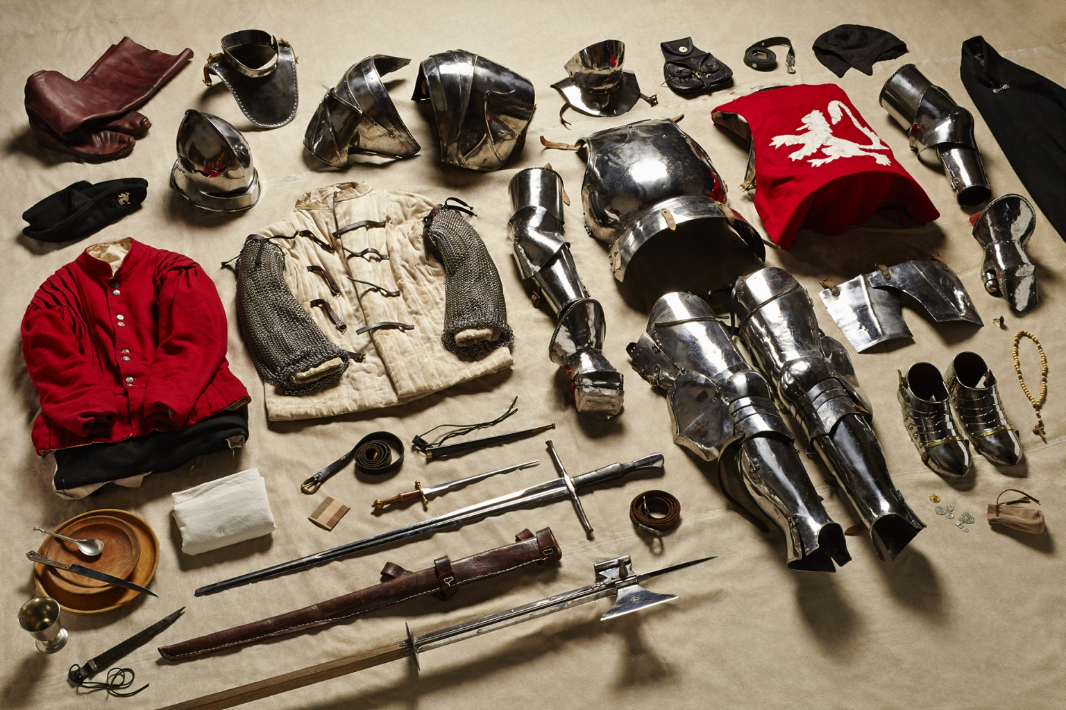 Yorkist Man at Arms, Battle of Bosworth, 1485 - Soldiers' Inventories - Photo by Thom Atkinson