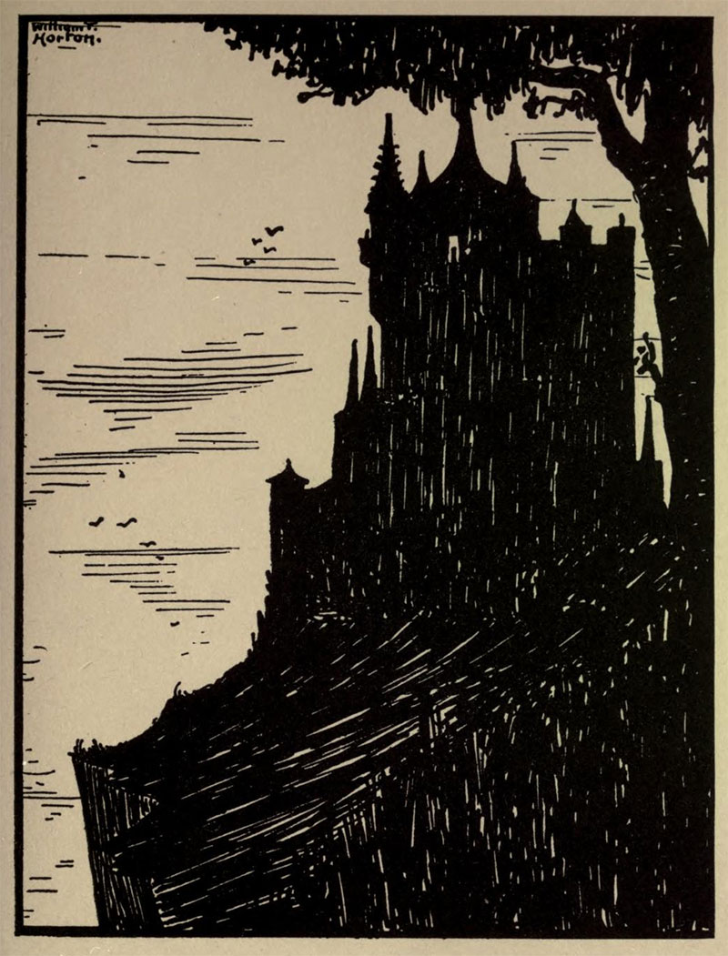 Chateau Ultime- Illustration by William Thomas Horton