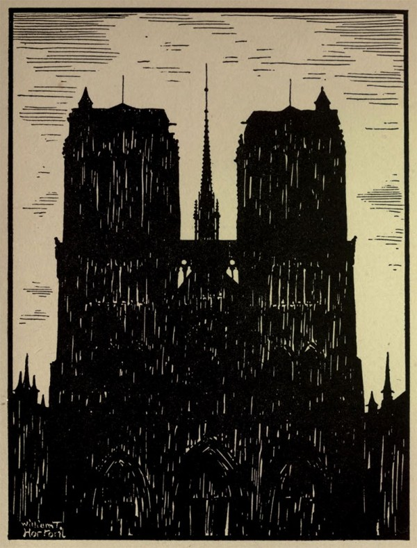 Notre Dame de Paris- Illustration by William Thomas Horton