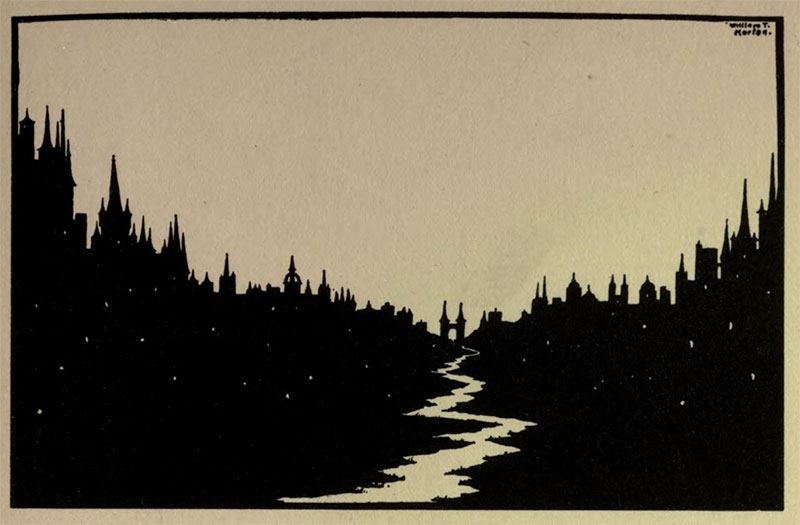 Nocturne- Illustration by William Thomas Horton