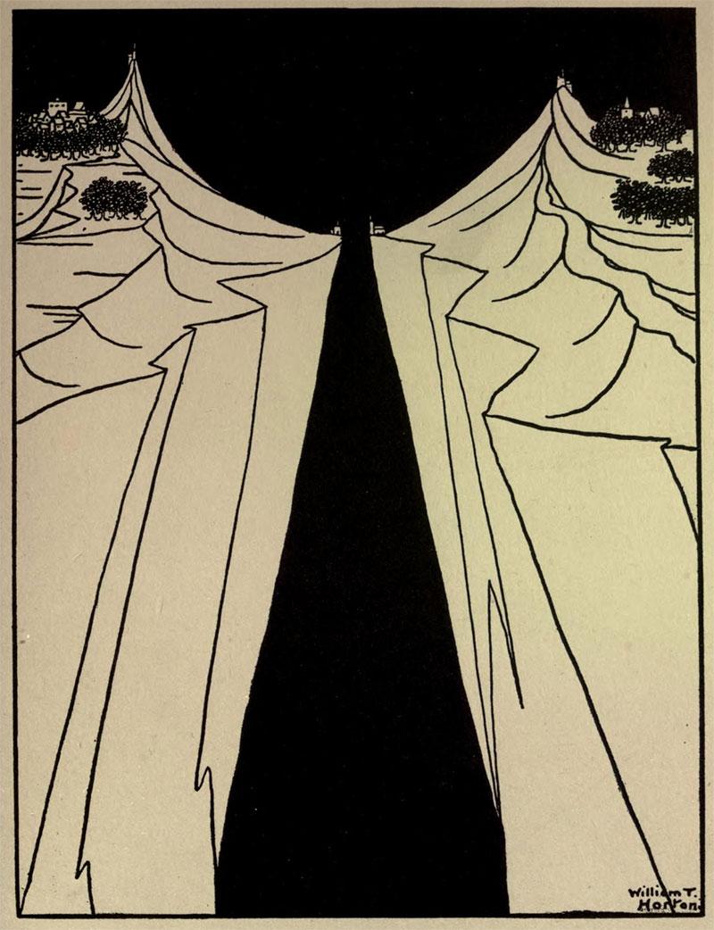 The Gap- Illustration by William Thomas Horton