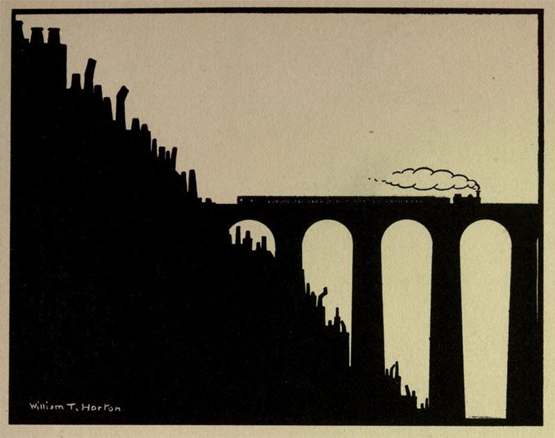 The Viaduct- Illustration by William Thomas Horton