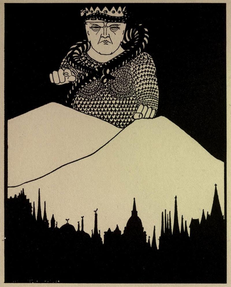 Mammon- Illustration by William Thomas Horton