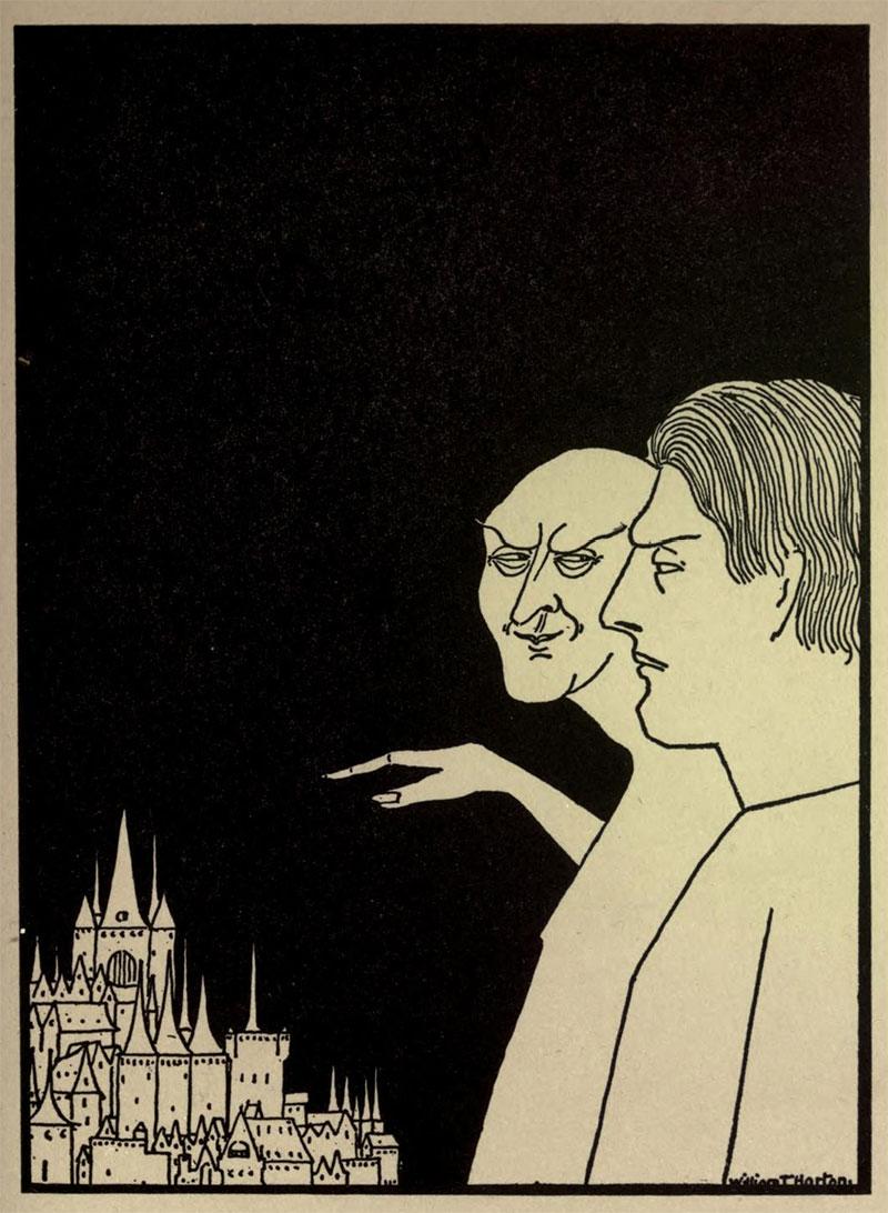 Temptation- Illustration by William Thomas Horton