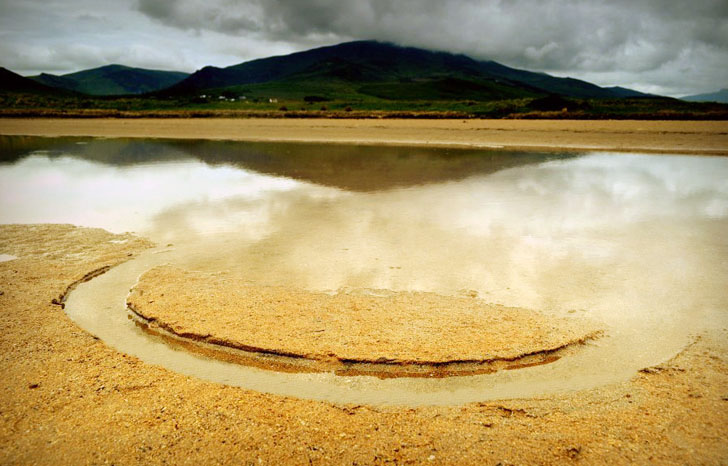 Emerge - Land Art by Gerry Barry