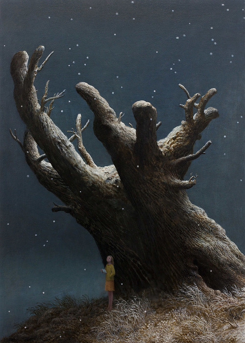 God of the Forest - Oil Painting by Aron Wiesenfeld