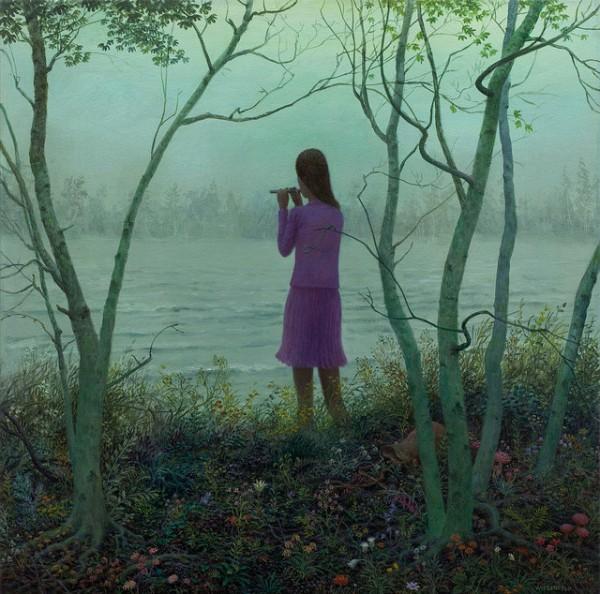 Bloom - Oil Painting by Aron Wiesenfeld