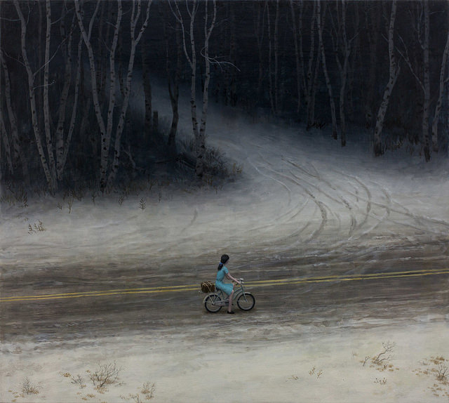 The Return - Oil Painting by Aron Wiesenfeld